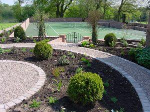 Tennis Court Garden 2