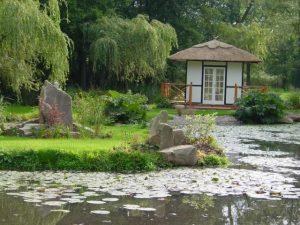 Pond and Sun House 2