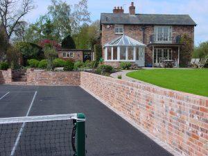 Tennis Court Garden 4
