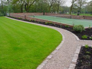 Tennis Court Garden 5