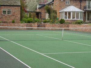 Tennis Court Garden 10