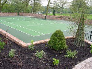 Tennis Court Garden 6