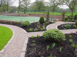 Tennis Court Garden 3