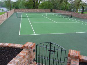 Tennis Court Garden 7