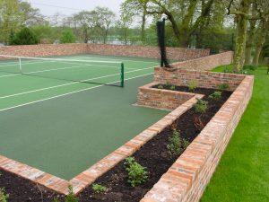 Tennis Court Garden 8