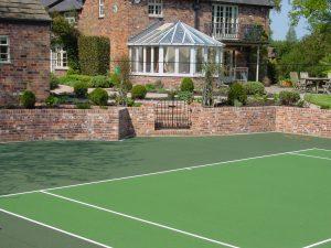 Tennis Court Garden 12